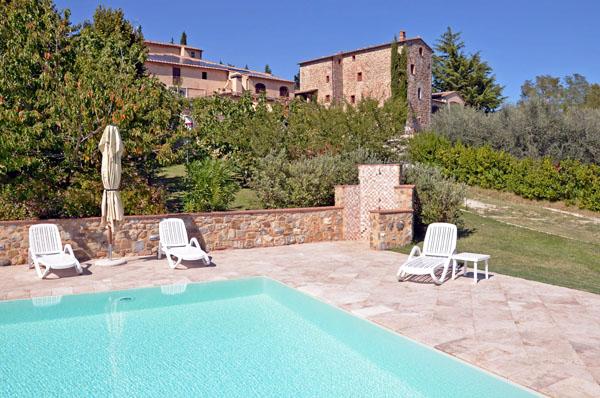 Villa Sensano piscina