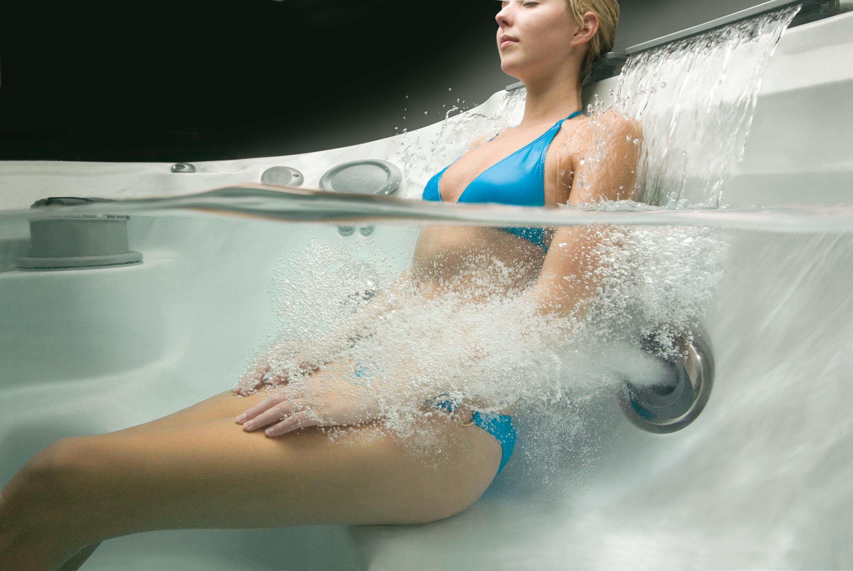 jacuzzi massaggio rilassante